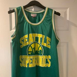 Seattle Supercsonics Jersey